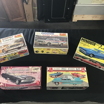 Vintage model cars from 1960's  - Model Cars