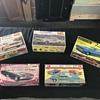 Vintage model cars from 1960's