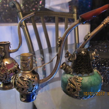 Love my little Opium Pipes. - Asian