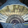 victorian sighed folding fan