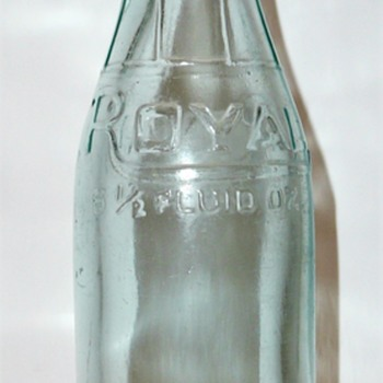 Royal Soda Water Co. / St. Louis, Mo - Bottles