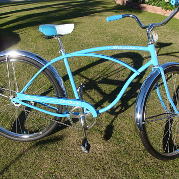 Kevin's Unrestored  1974 Schwinn Typhoon Cruiser all original - Sporting Goods