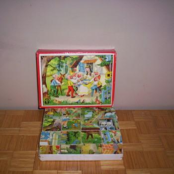 Picture blocks - Toys