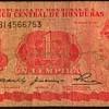 Honduras - (1) Lempira Bank Note
