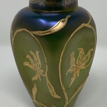 Loetz Russian Green DEK I/134, PN II-72, ca. 1900 - Art Glass
