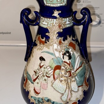 Chinese or Japanese Moriage Vase - Asian