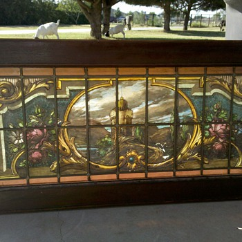 Painted Stained Glass????