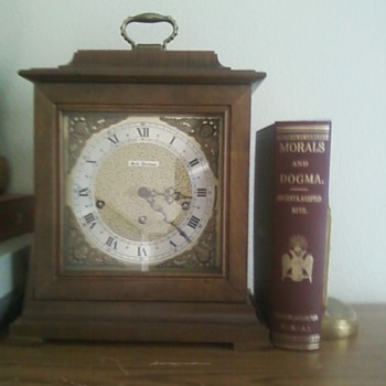 My grandparents' mantel clock.