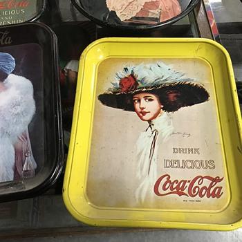 Coca cola tray  - Coca-Cola