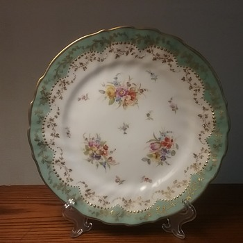 Dresden Klemm dessert plate - China and Dinnerware