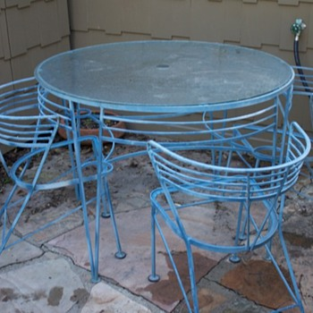 Interesting iron chairs - Furniture