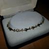 Diamond cut and polished 14k gold dolphin bracelet