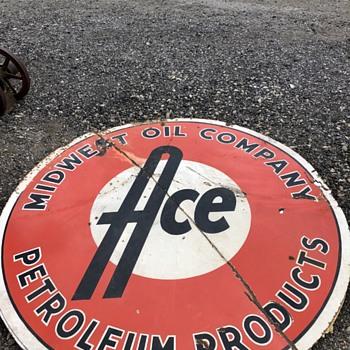 ACE Petroleum - Signs