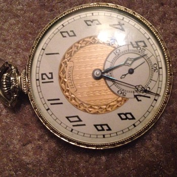 14k Gold Filled Autocrat Illinois Pocketwatch - Pocket Watches