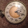 14k Gold Filled Autocrat Illinois Pocketwatch