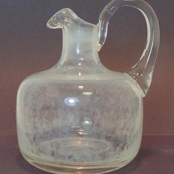 Handblown Glass Mini Jug? - Art Glass