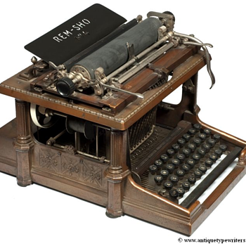 Rem-Show typewriter - 1896 - Office