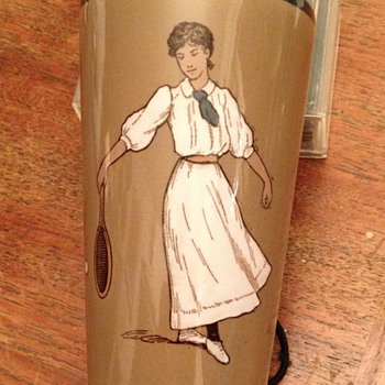 "Dorothea Lambert Chambers ""German"" ceramic tumbler - Pottery"