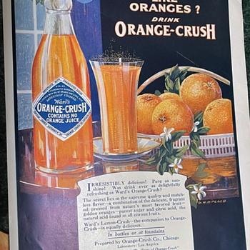 Orange Crush - full page Ad - Advertising