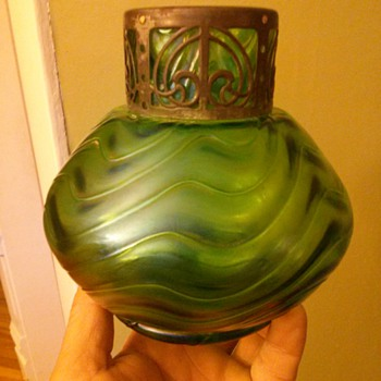 art nouveau vase ?? - Art Glass
