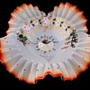 High Quaility 1800s, Early 1900s Cased Glass Bridal Bowl