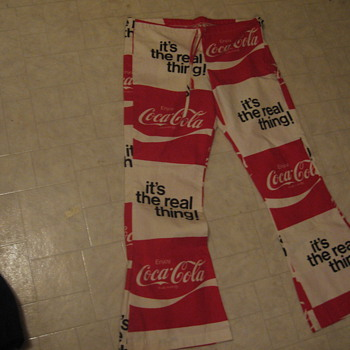 anyone have some info on these pants - Coca-Cola
