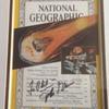 John Glenn Autographed National Geographic