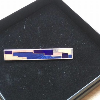 Marie georges-william Barboteaux - art deco brooch