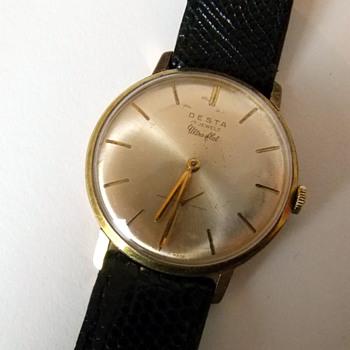 Desta Ultra Flat 17 Jewel wristwatch - Wristwatches
