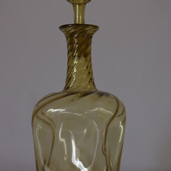 Khaki Wrythen Decanter - Bottles