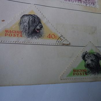 Magyar Posta Old Stamps