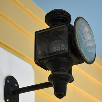 Not sure whether these are carriage lights or train lights... - Lamps
