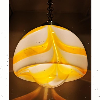 glass pendant lamp - Art Glass