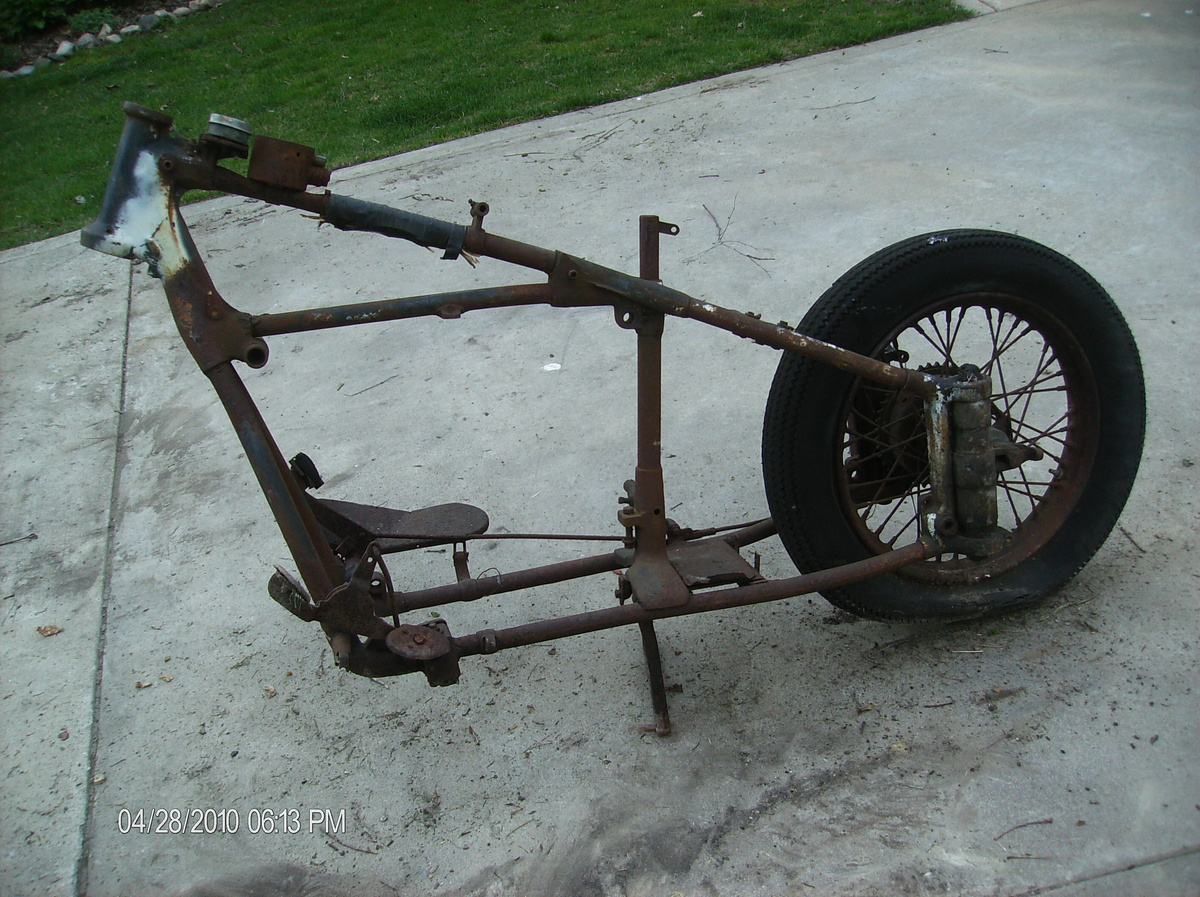 Indian motorcycle frame | Collectors Weekly