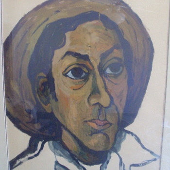 Picasso self portrait?! - Posters and Prints