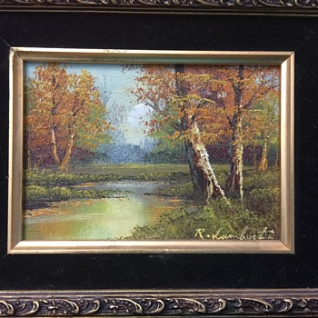 "R. Lambert ""Autumn Splendor"" painting - Fine Art"