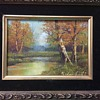 "R. Lambert ""Autumn Splendor"" painting"