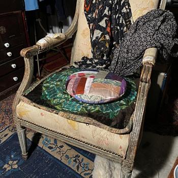 Louis XVI Chair - Old - Furniture