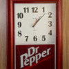 Dr. Pepper Advertising Clock