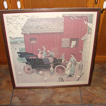 1953 norman rockwell print - Posters and Prints