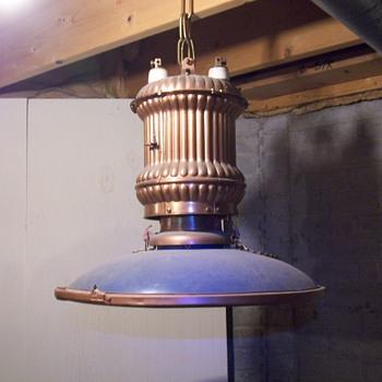 Industrial Light from the Burlington Shops in Havelock/Lincoln Nebraska