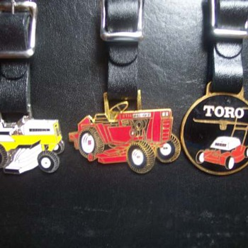 Watch Fobs Wheel Horse, Gravely and Toro - Pocket Watches