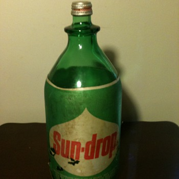 Old Sun-Drop Bottle - Bottles