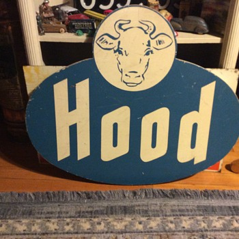 The Blue Hood Logo Sign Mystery - Advertising