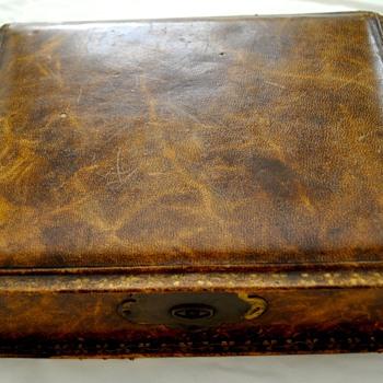 Antique German Romme Cards & Case