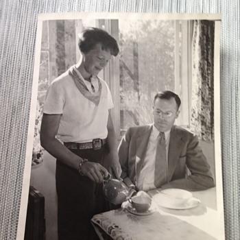 Amelia Earhart and George Palmer Putnam - Advertising