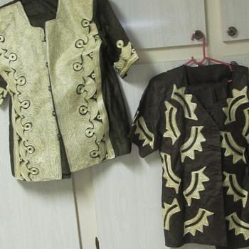2 strange clothing outfits