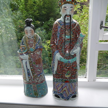 Exquisite Asian statues needing identification - Asian