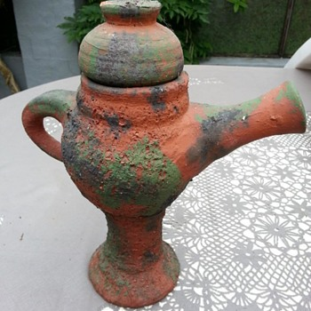 Redware jug - Pottery