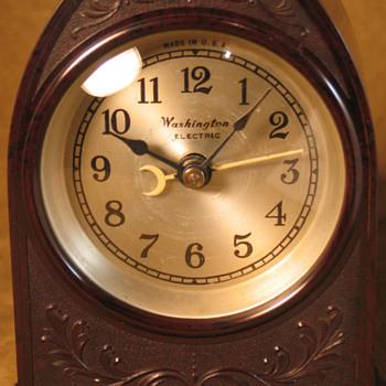 Washington Electric Cathedral Clock - Clocks